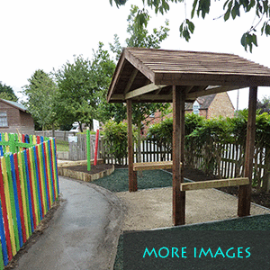 Outdoor play that gives fun with some properties