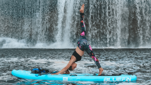 The guidance of the stand paddle board technique